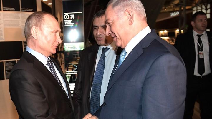 Премьер Израиля Нетаньяху нажаловался Владимиру Путину на Иран