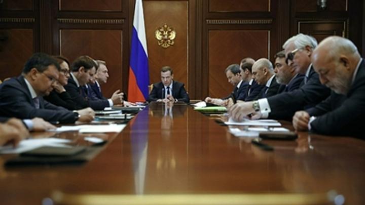 Отставники в правительстве выслушали последние поручения Путина