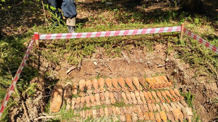 Осторожно, мины: Немецкие подарки не дают построить мемориал ВОВ