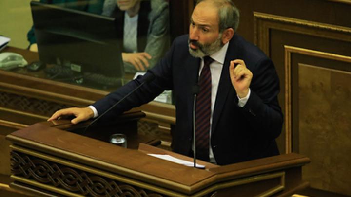 Пашинян назвал время своей отставки
