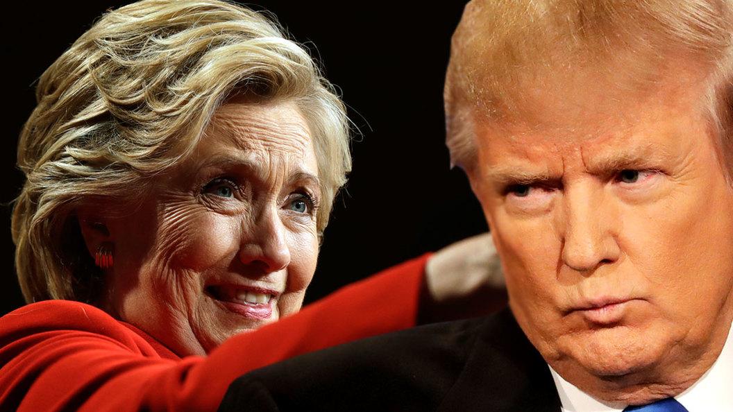 Трамп спокойно и уверенно победил Клинтон в первом раунде теледебатов