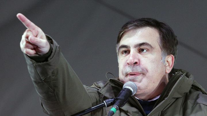 Саакашвили из-за границы взялся инициировать импичмент Порошенко