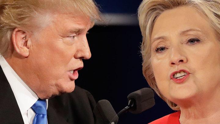 Итоги дебатов Трампа и Клинтон: Онлайн-трансляция