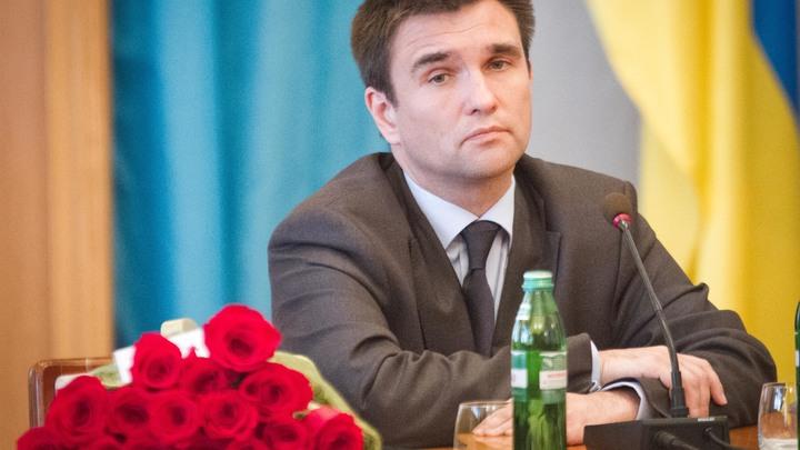 «Призываю не ехать в Россию»: Климкин пытался запугать украинцев «гарантированными провокациями»