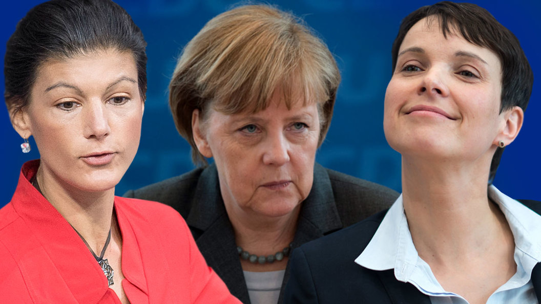 Валькирии против Меркель
