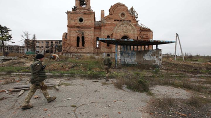 Украинские террористы, напавшие на Горловку, замаскировались под православных русских патриотов - Басурин