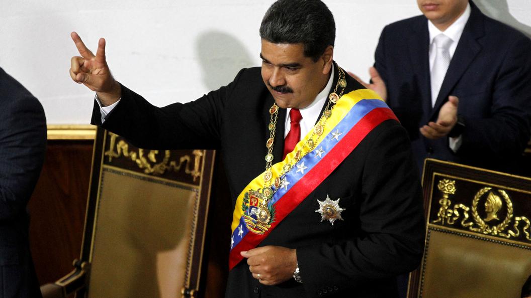 Мадуро обвинил США внамерении устроить военный переворот вВенесуэле