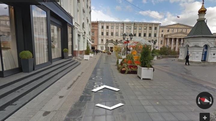 Место на карте: Площадь в центре Москвы назвали в честь архитектора Бове