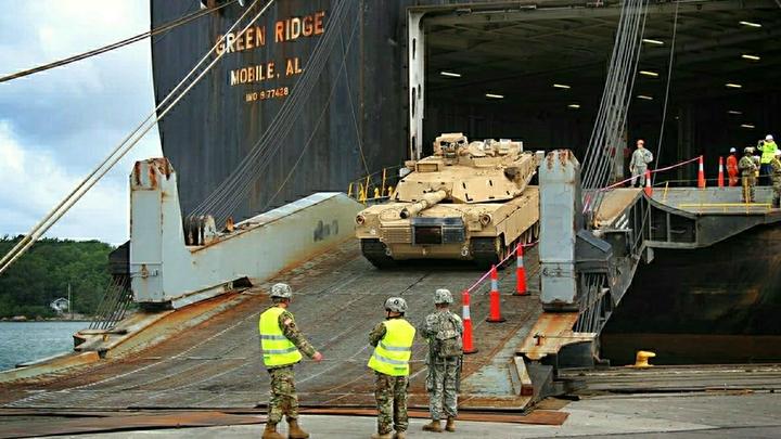 Пробки - до 9 танков: США предупредили Германию о переброске бронетехники через ее территорию