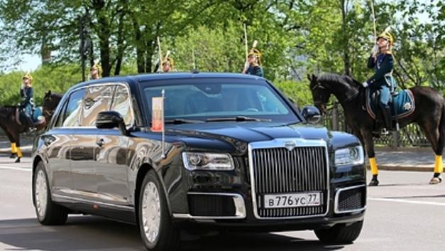 Названы сроки полной комплектации «Кортежем» автопарка президента России