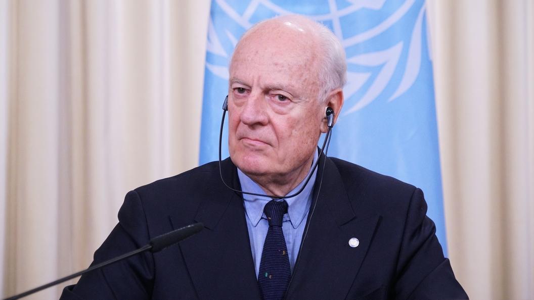 Reuters: Де Мистура обсудит с США и союзниками реформу конституции Сирии