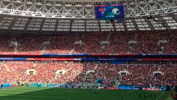 Звёзды на футболе: Россия против Саудовской Аравии