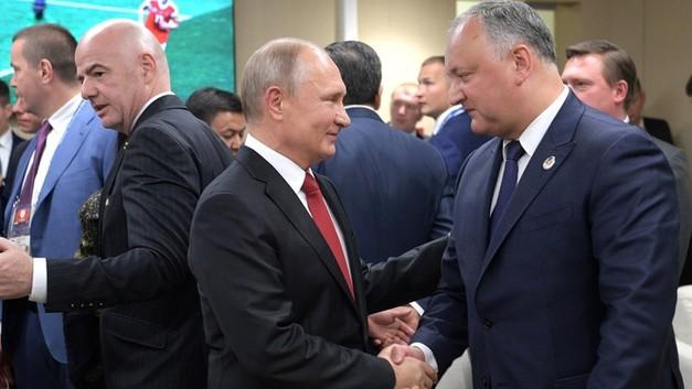 Против России – не дружить: Додон рассказал Путину, как Молдавия избегает геополитического влияния