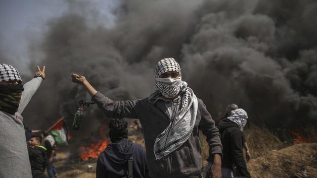 Палестинская ракета не долетела до Израиля