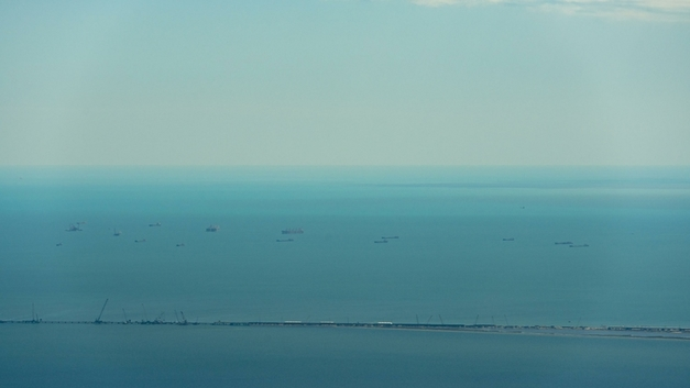 Под присмотром: За кораблями НАТО в Черном море наблюдает российский разведчик «Экватор»