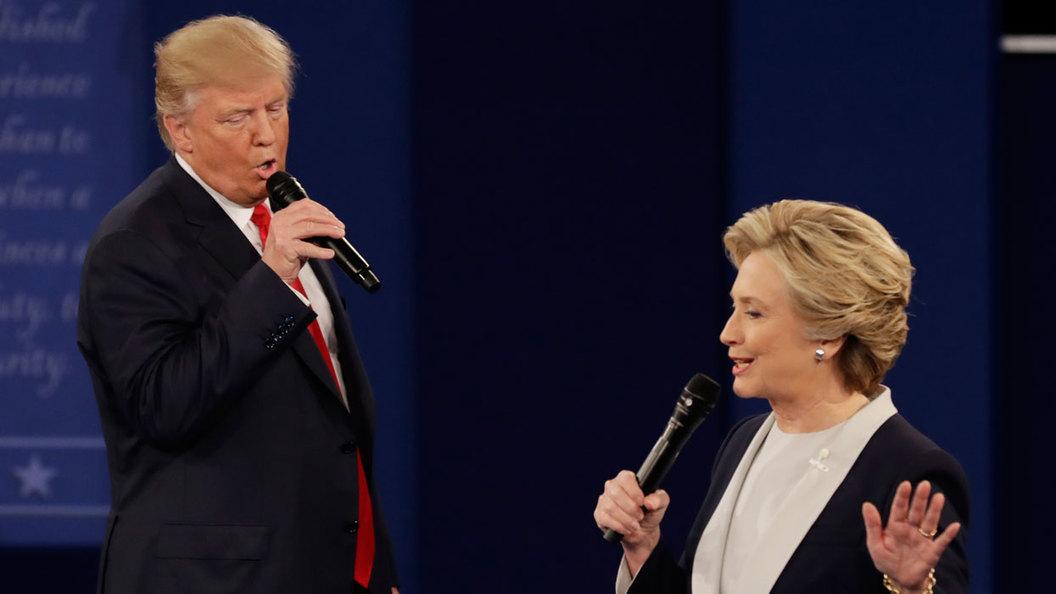 Дебаты Трампа и Клинтон в США: Ставка на феминизм и русофобию провалилась