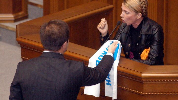 Тимошенко сообщила, что украинцы живут хуже рабов из старинного Египта