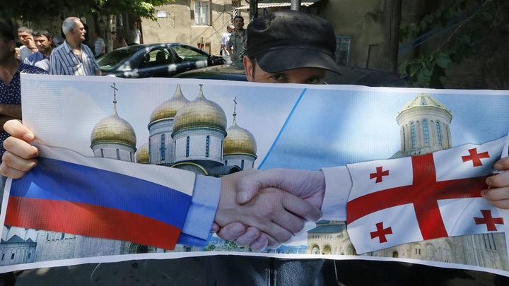 Выборы в Грузии: Народ за Россию, власти - против