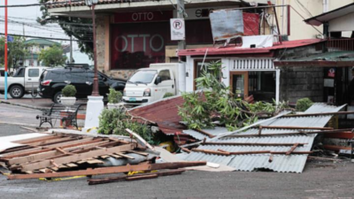 Супертайфун «Мангхут» смывает китайские города - видео