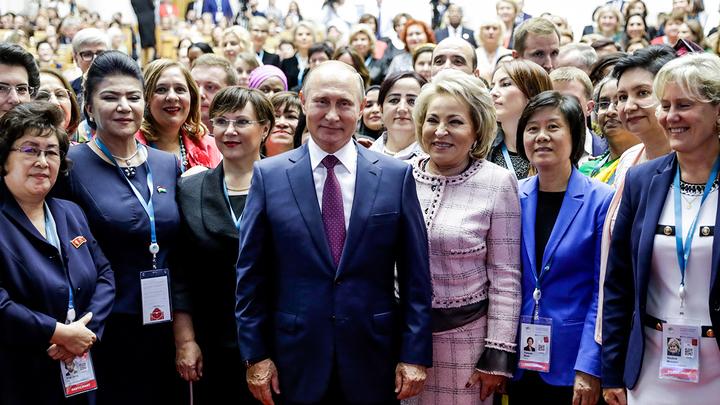 Путин о женщинах: Трогательно и душевно
