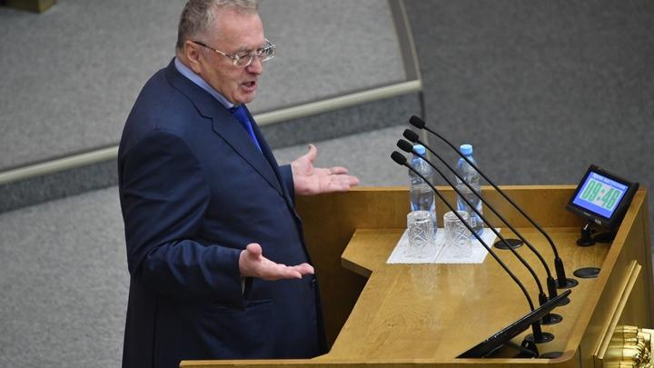 «Судить будут не меня, а киевскую камарилью»: Жириновский пригрозил Украине Гаагским трибуналом