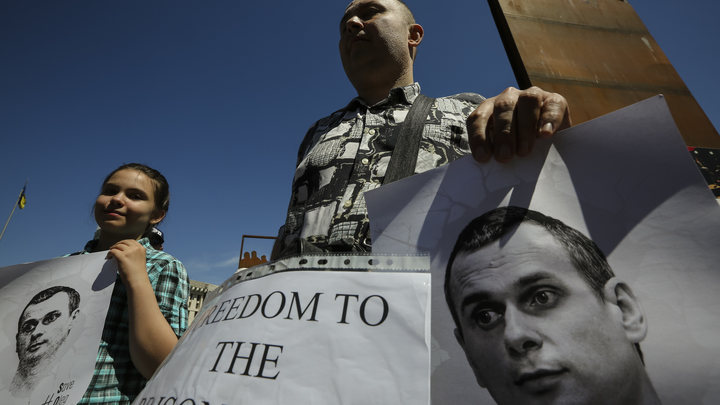«Абсурдизм на марше»: Террорист Сенцов официально вошел в лонг-лист премии Сахарова
