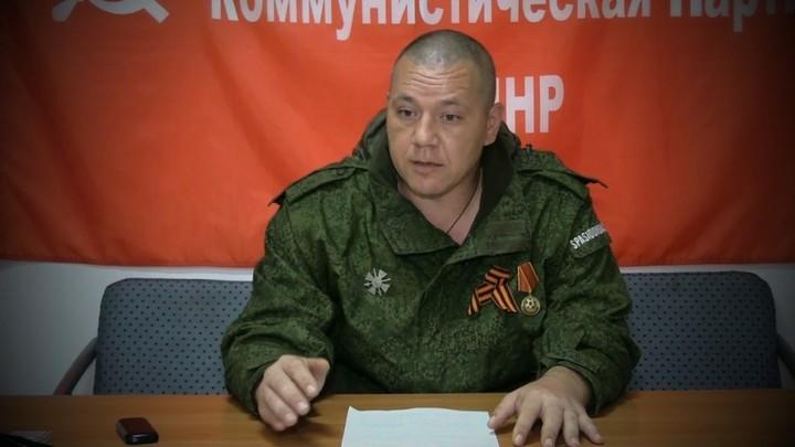 Взрыв на съезде Компартии ДНР ранил кандидата на выборах главы республики