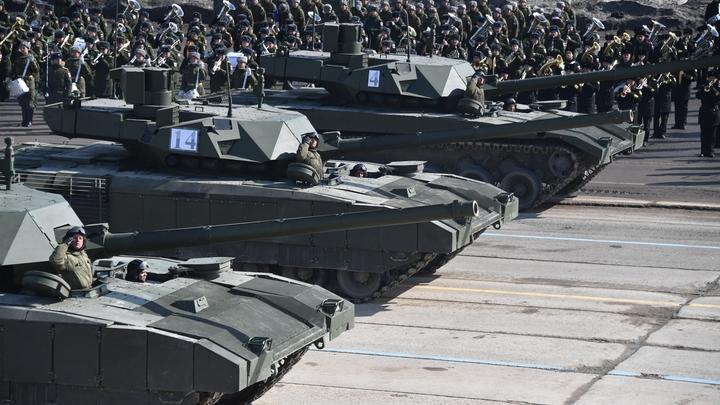 Вооружение будущего: Индия купит у России 1700 танков Т-14 «Армата»