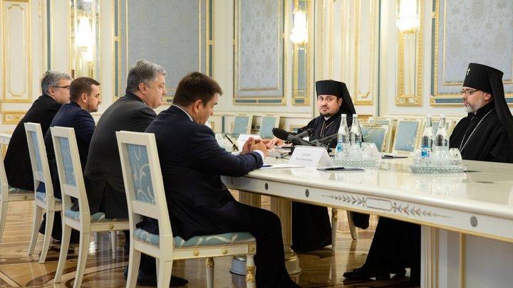 Парубий попросил Патриарха Варфоломея приехать и дать Украине автокефалию