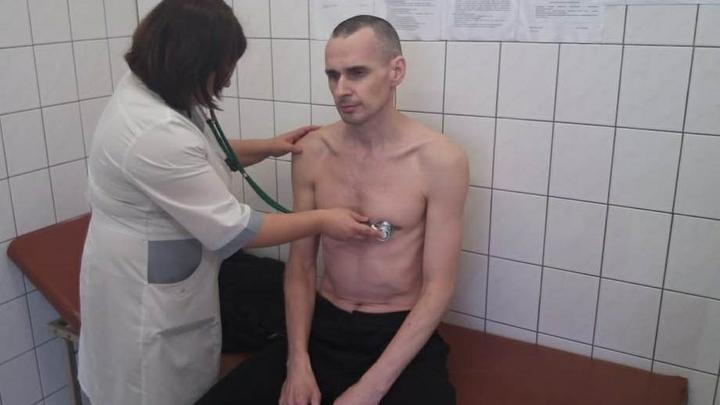 Голодовка была промоакцией Сенцов начал писать сценарий о жизни в тюрьме
