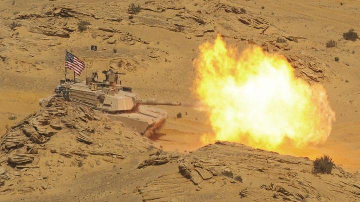 «Абрамс» капут: На видео показали, как уничтожают гордость военных США