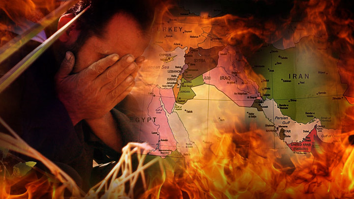Ближний Восток - кладбище в огне