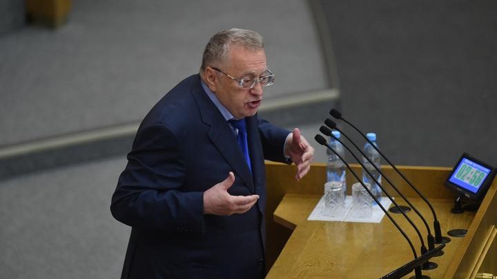 На Украине испугались заявления Жириновского о войне