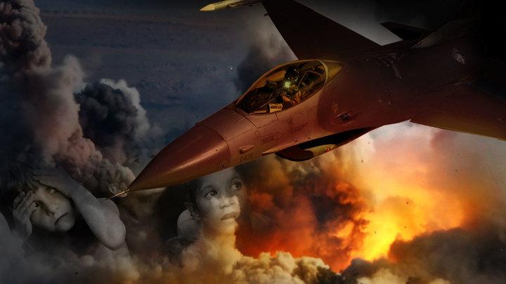 Запад бомбит мирняк в Сирии, но ему - как с гуся вода