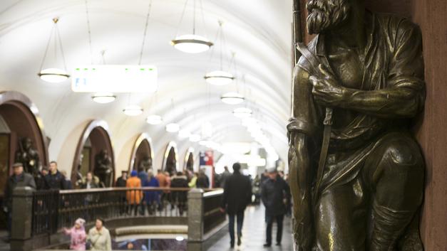 Поезд Универсиады 2019 года встал на рельсы в московском метро