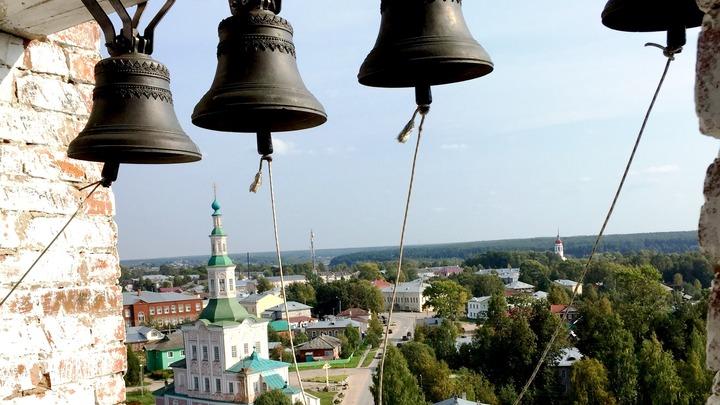 Вид с колокольни. Фото автора