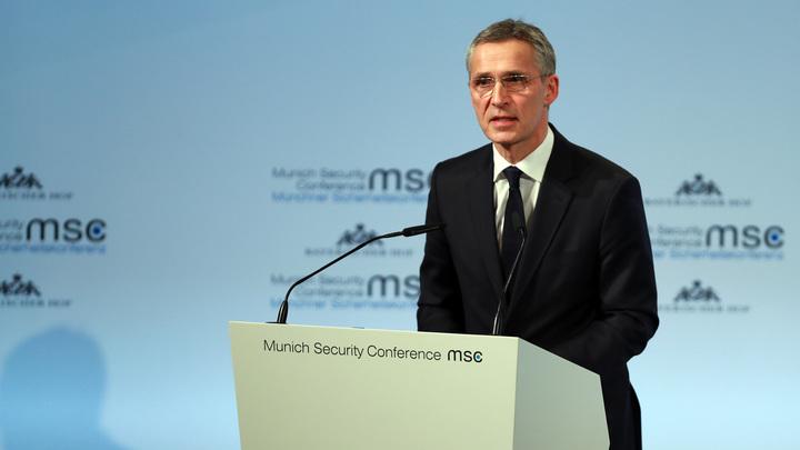Столтенберг предостерег Евросоюз от попыток соревноваться с НАТО