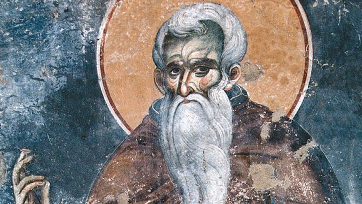 Преподобный Нил Мироточивый. Православный календарь на 25 ноября