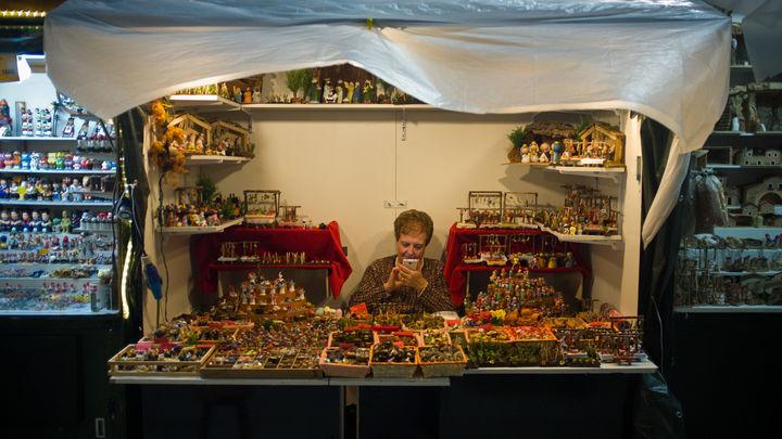 Есть все, кроме Путина: На рождественской ярмарке в Каталонии началась традиционная распродажа голозадых политиков