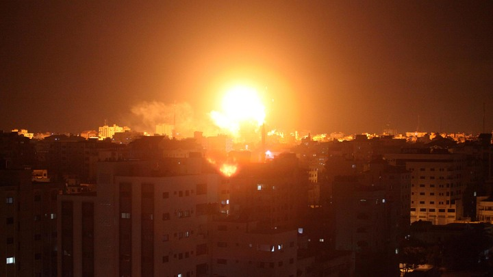 Израильские военные заявляют опуске ракет изсектора Газа