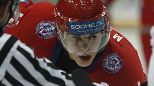 Хоккеист Малкин оставил ″спецпослание″ на коньках в поддержку жителей Магнитогорска