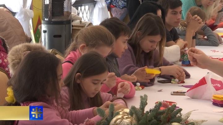 Как встретили Рождество в обители Святой Елисаветы в Покровском-Стрешневе