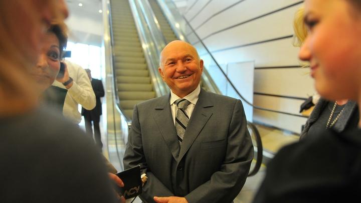 Впервые слышу: Лужков удивлен слухам о своем возвращении в политику