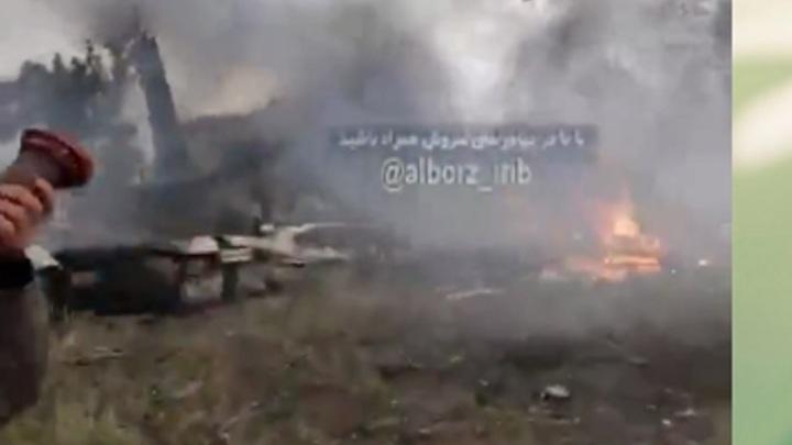 Разбившийся в ИранеBoeing 707 въехал в жилой район -FARS