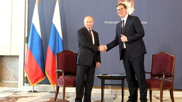 ″Благодарность не по протоколу″: Вучич признался Путину, что для него значит орден Александра Невского