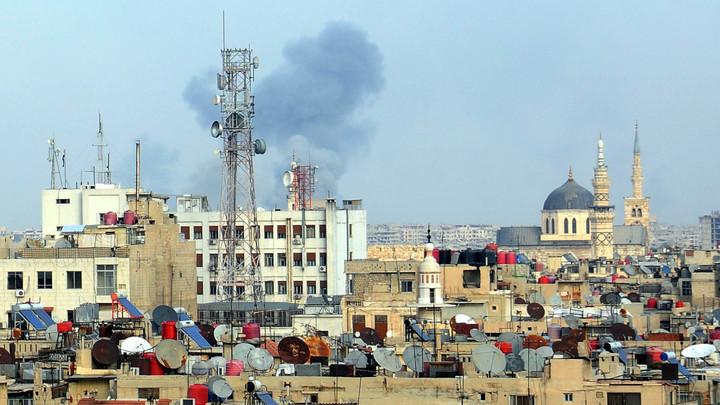 Вблизи российского посольства в Дамаске прогремел взрыв — СМИ