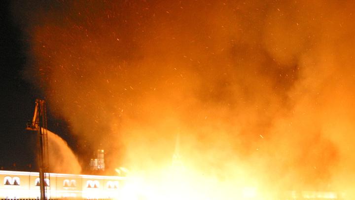 В подмосковной Балашихе прогремел взрыв - видео