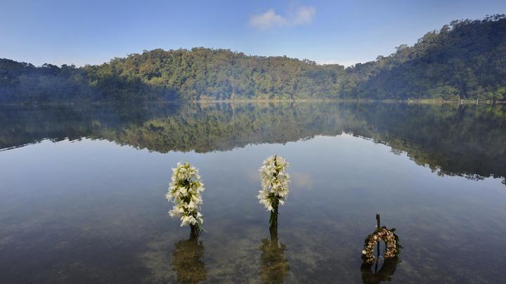 Всвященном озере майя нашли человеческую голову