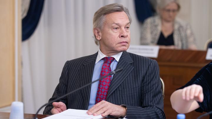 Он даже гордился: Пушков наглядно описал страдания Порошенко о бедности народа