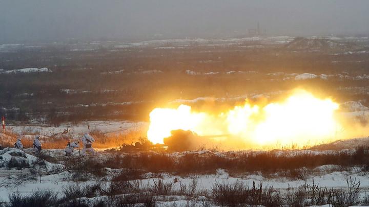 Каратели ВСУ снимали cБПЛА смертельное попадание 122мм снаряда в четырех защитников Донбасса— источник